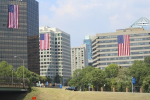 Sept 11 Flags in Rosslyn/2013